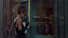 "Audrey Hepburn, ""Breakfast at Tiffany's"" (1961) (classic_film) Tags: 1961 film movie sixties 1960s hollywood newyork cine cinema breakfastattiffanys vintage ephemeral nostalgic nostalgia old retro época elegant classic clásico película audreyhepburn beauty beautiful pretty glamour hübschefrau style prettygirl hair schauspielerin mujerbonita actrice mujer hairstyle actriz schön fashion actress girl frau niñabonita woman sunglasses usa unitedstates celebrity wardrobe clothes clothing romance ropa kleidung romantic necklace jewelry sensuous sexy brunette lady jahrgang alt oll entertainment hat"