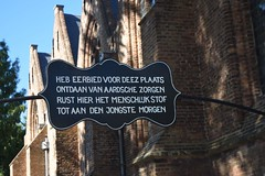 Abbenbroek (TedXopl2009) Tags: abbenbroek bord kerk begraafplaats kerkhof zuidholland nederland netherlands voorneputten