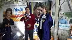 05/10/18 - Confraternização no comitê de Porto Alegre. Com o vereador Oséas, deputado Adilson Troca e amigos.