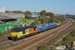 67027 01-10-18 (IanL2) Tags: colas colasrailfreight class67 67027 charlotte rhtt mml wellingborough northamptonshire trains railways