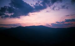 Wide sky (sam.naylor) Tags: italy europe travel medium format film fuji gs645s 645 120 nature farmland farm mountain mountains hills countryside provia 100 slide positive chrome