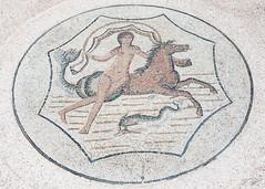2018/07/07 16h26 mosaïque romaine, Musée archéologique (Rabat) (Valéry Hugotte) Tags: 24105 antiquité maroc rabat canon canon5d canon5dmarkiv mosaïque musée muséearchéologique romain rabatsalékénitra ma