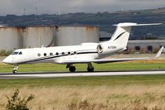 N175NH (GH@BHD) Tags: n175nh gulfstreamaerospace gulfstream g5 guv g550 tvpxaircraftsolutionsinc bhd egac belfastcityairport bizjet corporate executive aviation aircraft