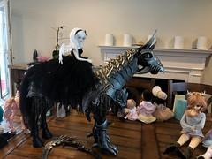 Big ass pony (Bazangi) Tags: domuyanightmarehorse domuya nightmare horse abjd bjd doll