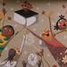 Plaça de l´1 d´Octubre de Fonollosa | Mural de Valentí Gubianas