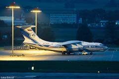 Volga-Dnepr Airlines / Ilyushin Il-76 / RA-76950 (schmidli123) Tags: zurichairport zrh zrhairport freighter cargo volgadnepr volgadneprairlines ra76950 ilyushin il76 ilyushin76