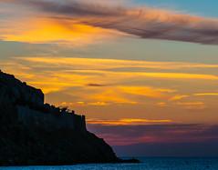 Sunset Clouds (Myrina Town - Limnos - Greece) (Olympus OM-D EM1-II & M.Zuiko 40-150mm f2.8 Telephoto Zoom) (1 of 1) (markdbaynham) Tags: greece greek limnos lemnos sunset cloud myrinatown view greeksunset olympus omd em1 em1mk2 em1ii csc mirrorless mft olympusem1 mzd mz zd mzuiko zuikolic 40150mm telephoto prolens m43 m43rd micro43 micro43rd grecia greka hellas hellenic