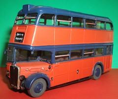 Ex London transport RT54 Smiths of Reading. (Ledlon89) Tags: modelbusesandcoaches london bus buses transport londonbus londonbuses londontransport