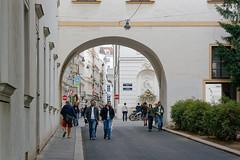 Vienna, Austria (wildhareuk) Tags: arch canon canoneos500d people street tamron18270mm austria tamron vienna vienna2018 img8484dxo