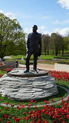 General Sir John Monash Memorial amongst the poppies DSC06511 (spelio) Tags: honourtheirspiritawmcanberraactaustraliaoct20181918201862 000australians62000poppies honourtheirspirit awm canberra act australia oct 2018 19182018 62000australians 62000poppies 620000