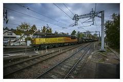 Get A Grip!  Explored.  22-10-2018. (-Metal-M1KE-) Tags: 3s32 grids grid colasrail colas colasgrids barntgreen birminghamandgloucesterline 56302 56096 rhtt railwayphotography