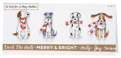 Craft Creations - Shelley182 (Craft Creations Ltd) Tags: puppies dogs christmas greetingcard craftcreations handmade cardmaking cards craft papercraft