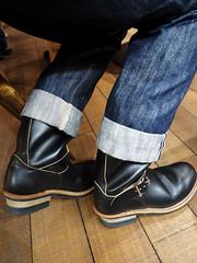 PA080527 (a9825bon) Tags: olympus 1240 75mm jeansda jeans denim companion redwing 9268