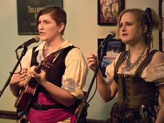 Flint and Annie - Misbehavin' Maidens at the Limerick Pub (dckellyphoto) Tags: band pirate music musicians bar perform women female group misbehavinmaidens maryland md performance singing singer sing troupe concert
