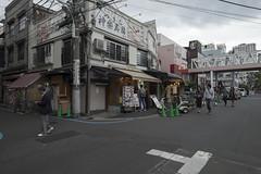 Tokyo.中央区築地 小田原橋西 (iwagami.t) Tags: 201810 fujifilm fuji xt1 xf14mm japan tokyo city town urban street clouds