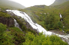 The Meeting of Three waters (Sundornvic) Tags: water waterfall rivers scotland mountains glencoe vally