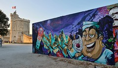 Graffiti, Le Gabut, La Rochelle (thierry llansades) Tags: gabut graff graffs graf graffiti graffitis grafs spray aerosol painting bombing tour tours port 17 art urbanart urban mur murs wall charentemaritime charente charentes charentesmaritime legabut saintnicolas toursaintnicolas
