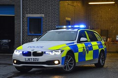 LJ67 DZU (S11 AUN) Tags: durham constabulary bmw 330d 3series xdrive touring anpr police traffic car rpu roads policing unit 999 emergency vehicle lj67dzu
