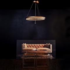 Pendelleuchte Infinite Aura (lichthausmösch.de) Tags: swarovski infinite aura design licht pendel leuchte berlin stilwerk