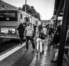 Commuters (Henka69) Tags: göteborg gothenburg commuters publictransport streetphotography monochrome
