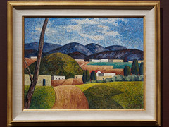 The Big Hill (Howard Schleeter, 1936) (Whidbey LVR) Tags: lyle rains lylerains olympus em5ii new mexico newmexico albuquerque museum art painting