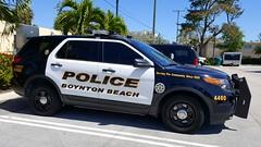 Boynton Beach Police Department (BBPD) Ford Police Interceptor Utility - ALPR Unit (JacobBarone01) Tags: boyntonbeachpolicedepartment boyntonbeachpolice boyntonbeach boynton beach palmbeachcounty palm county police policecar south florida southflorida