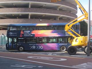 Go North East 6310 (NK67 EBC). Eldon Square Bus Station, Newcastle