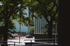 City (JacksonSwaby) Tags: city cloud concrete construction car carpark cityscape structure street streetphotography stone sign building brick bricks buildings blue tree trees texture road pavement sidewalk london