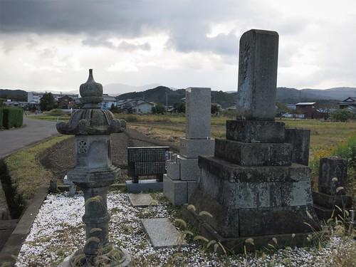 along the old foot route, Hokkoku-Kaido, south of Echizen-city