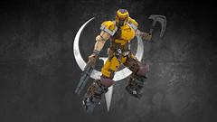 SLIPGATE MARINE (IAmDest) Tags: lego moc spacemarine ldd model scifi videogame marine soldier ranger quake actionfigure person shooter figure champion quakechampions quake1 gun weapon axe trooper