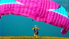 Ready for the new start at Flickr (Ostseetroll) Tags: gardasee geo:lat=4577920913 geo:lon=1086244433 geotagged ita italien montebaldo veneto olympus em5ii paragliding