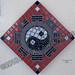 """Yin/Yang: The Balance of Life"" by Beva C, mosaic, $75.00"