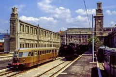 FS ALn 556.2331 Trieste Campo Marzio 13/05/1984 (stefano.trionfini) Tags: train treni bahn zug fs aln556 museo triestecampomarzio italia italy