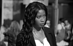 untitled (ChrisRSouthland) Tags: monochrome blackandwhite blackwhite schwarzweiss portrait street streetportrait streetphotography athens gazi event beauty woman nikond850 nikkor70200mmf40