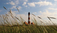 Westerhever Leuchtturm (babsbaron ( Bella )) Tags: leuchtturm lighthouse westerhever meer küste licht light ocean coast ostsee easternsea sea landschaft landscape