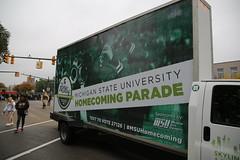 Photo representing MSU Homecoming Parade, October 2018