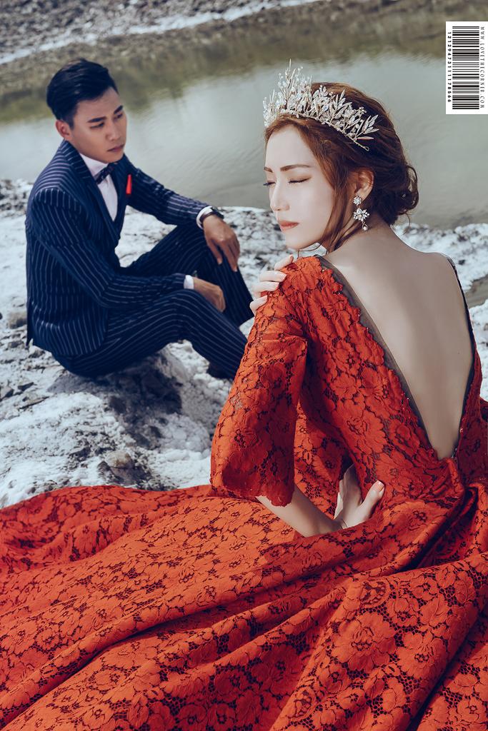 台南鹽山雪地婚紗,霸氣女王婚紗聖經一次拍給你!(上輯)inBlossom手工訂製婚紗