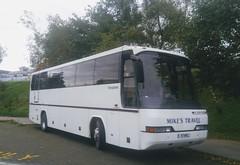 Mike's Travel,Thornbury (Woolfie Hills) Tags: mikes travel thornbury neoplan starliner