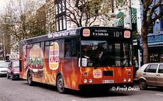 Bus Eireann KC160 (89D10662). (Fred Dean Jnr) Tags: buseireannroute210 cork gac kc160 89d10662 grandparadecork november1998 alloverad burgerking