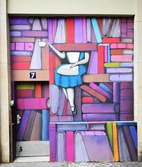 Alice (HBA_JIJO) Tags: streetart urban graffiti paris art france hbajijo wall mur seth julienmalland painting peinture globepainter urbain livre