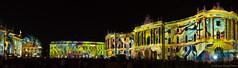 _DSC5113-Pano (koorosh.nozad) Tags: lights festival festivaloflights germany deutschland berlin nachtaufnahmen pano panorama bebelplatz bebelplace
