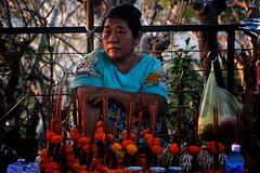 Selling Buddhist Offerings In Luang Prabang, Laos (El-Branden Brazil) Tags: laos laotian luangprabang asia asian mekong southeastasia