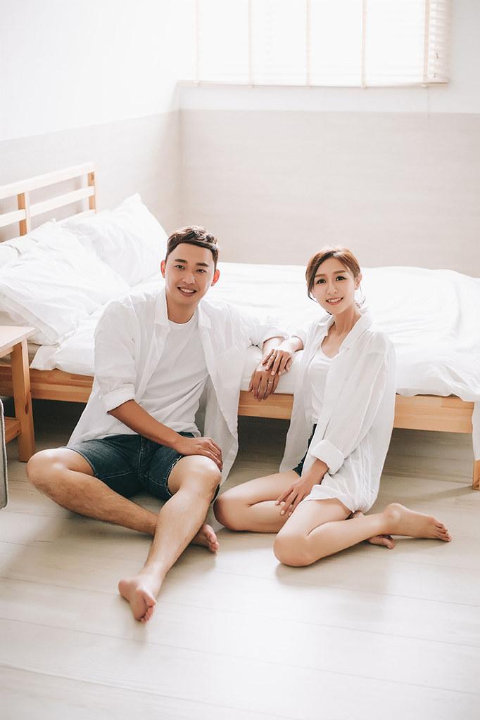 [美式婚紗]睿志 & 玉玲 / 攝影棚拍