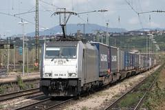Railpool 186 296 Weil am Rhein (daveymills37886) Tags: railpool 186 296 weil am rhein baureihe cargo traxx