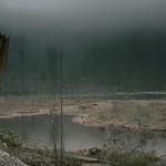Ein dunkler Tag am Huzenbacher See im Nationalpark thumbnail