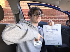 Massive congratulations  to Luke Stone passing his driving test on his first attempt with only two minor faults!  www.leosdrivingschool.com