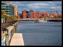 Detroit Bridge #4 (jason_hindle) Tags: manchester unitedkingdom greatermanchester ipadair2 salford salforddocks autumn lightroomcc olympus1240f28 detroitbridge huronbasin eriebasin snapseed olympusomdem5 salfordquays