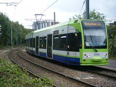 Croydon tram No. 2550 (johnzebedee) Tags: tram transport publictransport croydon surrey johnzebedee tfl bombardier