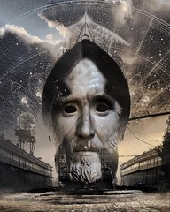 Dread not (Vincent Mattina (aka FLUX)) Tags: ship god travel stars face man mankind cosmic cosmos derams