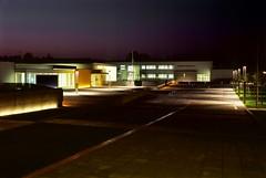 vista notturna polo scolastico